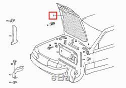 Mercedes-benz 190 W201 Capot Capuche Son Isolation A2016820326 Neuf Original