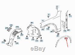 Mercedes-benz Glc X253 avant Droit Fender Housse A2538855103 Neuf Original