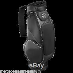 Mercedes benz Original Golf Sac de Simili-Cuir Noir Neuf Emballage D'Origine