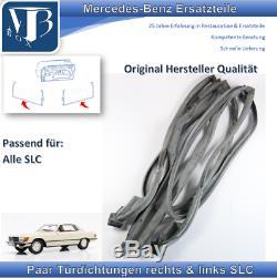 Mercedes-benz W107 C107 380SLC Paire Joints de Porte en Original