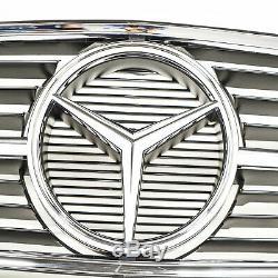 Mercedes-benz W126 avant Pare-Choc Radiateur Grille A1268800385 Neuf Original