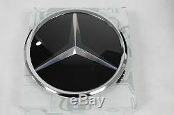 New Logo Mercedes Calandre A B C D E S Sl Slk Cla Cla Etc Original A1648880411