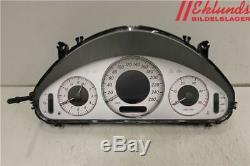 ORIGINAL Compteur de vitesse /compte tours MERCEDES-BENZ E-CLASS (W211) 2004