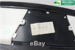 ORIGINAL Compteur de vitesse /compte tours MERCEDES-BENZ S-CLASS (W126) 1989