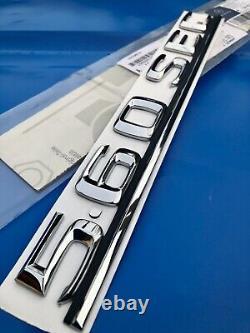 ORIGINAL Mercedes-Benz W126 560SEC coffre arriere badge logo A1268172415 rare