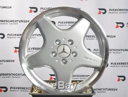 Original 17 Mercedes-Benz W168 AMG Coiffant III Jantes en Alliage
