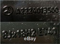 Original MERCEDES CLASSE S W222 Jantes RDKS TPMS 8J 18 Pouces et 41 A2224013500