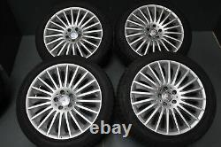 Original MERCEDES CLASSE S w222 8,5J 9,5J X 19 Pouces Jantes Et 36 30 Lk 5X112