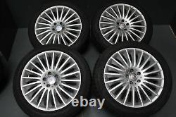 Original MERCEDES CLASSE S w222 8,5J 9,5J X 19 Pouces Jantes Et 36 43 Lk 5X112