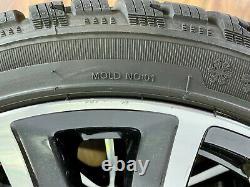 Original Mercedes 18 Roues en Alliage Pouces Pneu D'Hiver A B Cla Classe 8mm