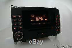 Original Mercedes Audio 20 CD MF2550 W245 T245 Classe B Alpine Autoradio 2-DIN