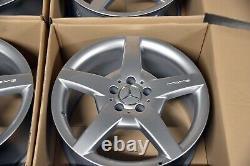 Original Mercedes-Benz AMG Jantes Lot Coiffant III C32 C55 CLK55 CLK63 SLK55 Neu