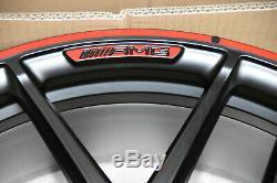 Original Mercedes Benz AMG Lot de Jantes Édition 10Jx 22 et35 Classe G W463 G63