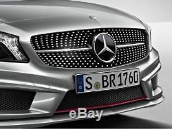 Original Mercedes-Benz Calandre Grille Diamant Lamelle en Noir Classe A 176
