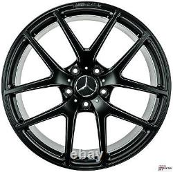 Original Mercedes Benz Classe G 21 Pouces Jantes W463 A4634010400 Noir Mat