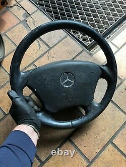 Original Mercedes-Benz Classe ML W163 Volant en Cuir avec Airbag 1634600603