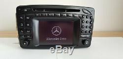 Original Mercedes Benz Comand 2.0 W203 W 203 Navigation DX CD maps