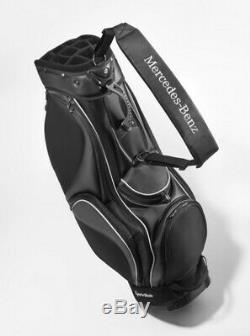 Original Mercedes-Benz Golfbag Sac de Golf Taylormade Noir X