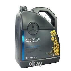 Original Mercedes-Benz Huile 20 Litre 5W40 229.5 Incl. Entonnoir + Remorque 20L