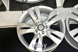 Original Mercedes-Benz Jantes Lot 17 Pouces Classe C W204 S204 C204 Neuf