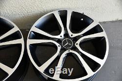 Original Mercedes-Benz Jantes en Alliage Lot 19 Pouces Designo Classe E W212