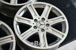 Original Mercedes-Benz Jantes en Alliage Lot de 16-Zoll W212 C207 R172 S212 W211