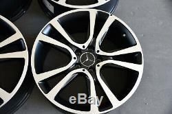 Original Mercedes-Benz Jantes en Alliage Lot de 19 Pouces Designo Classe E W212