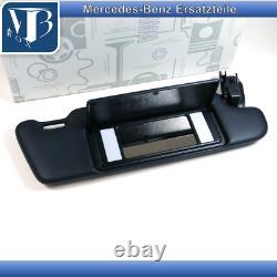 Original Mercedes-Benz R129 SL-A124 Parasoleil avec Miroir Droite Bleu