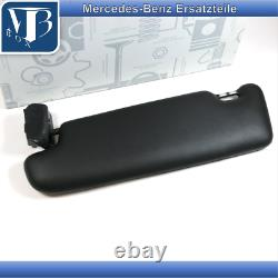 Original Mercedes-Benz R129 SL-A124 Parasoleil avec Miroir Droite Noir