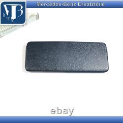 Original Mercedes-Benz R129 Sl W124 A124 Miroir de Courtoisie Parasoleil Bleu