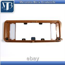 Original Mercedes-Benz R129 Sl W124 A124 Miroir de Courtoisie Parasoleil Datte