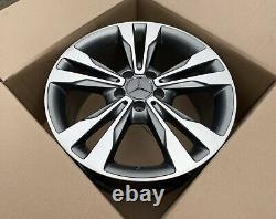 Original Mercedes Classe C W205 18 Pouces Alliage A2054012902 8,5Jx18 ET56 Top