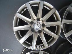 Original Mercedes Classe E w207 Jantes en Alliage 7,5J X 16 Pouces ET45 Lk 5x112