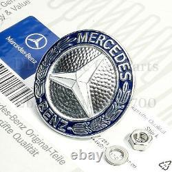 Original Mercedes Emblème Logo Entreprise Calandre W126 W 126