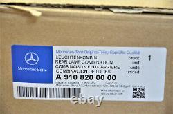 Original Mercedes Sprinter W910 W907 Feu Arrière A9108200000 à Gauche