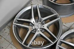 Original Mercedes-benz AMG Jantes en Alliage Lot 19 Pouces CLASSE S W222 C217