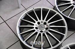 Original Mercedes-benz AMG Performance Lot de Jantes 19-Zoll C63 W204 C204 C207