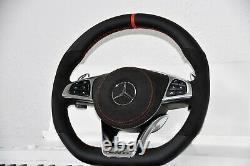 Original Mercedes-benz AMG Performance Volant C63 S63 A45 E63 SLK55 C43 Rouge
