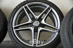 Original Mercedes-benz AMG Roues Complètes Roues 19 Pouces Hiver C63 W205 S205
