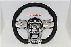 Original Mercedes-benz AMG Volant Cuir Trou C118 W167 W177 C190 W205 C217 W222