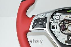 Original Mercedes-benz AMG Volant Top Affaire Mille Miglia Bicolore R231 W176