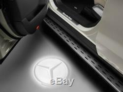 Original Mercedes-benz LED Projecteur Étoile Kit pour Vordertüren A1668205900