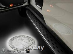 Original Mercedes-benz LED Projecteur Kit AMG Armoiries Vordertüren A2138206003