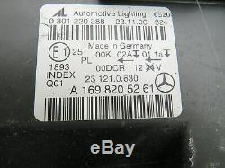 Original Phare au Xénon Droit Mercedes Benz Classe B W245 A1698205261