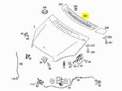 Original et Neuf pour Mercedes Benz A W169 avant Pare-Brise Entrée D'Air Grille