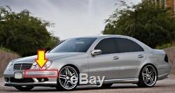 Original et Neuf pour Mercedes MB E W211 E55 AMG Pare Choc avant Garniture