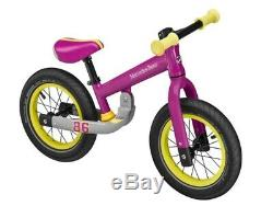 Original mercedes-benz Draisienne / Vélo sans Pédales Aluminium Rose 12 Pouces