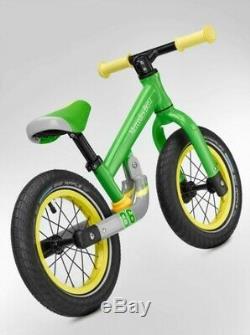 Original mercedes-benz Draisienne / Vélo sans Pédales Aluminium Vert 12 Pouces