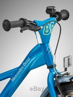 Original mercedes-benz Vélo Enfant Enfants Vélo Bleu Aluminium 16 Pouces