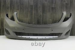 Pare-Chocs + Mercedes Classe V W447 + Original Pare-Chocs Dommages